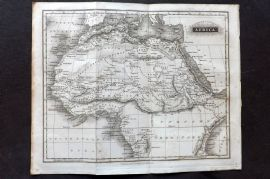 Arrowsmith 1824 Antique Map. Africa